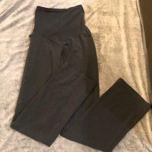 EUC!! Motherhood Maternity dress pants dark gray